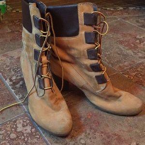 Timberland High Heeled Boots